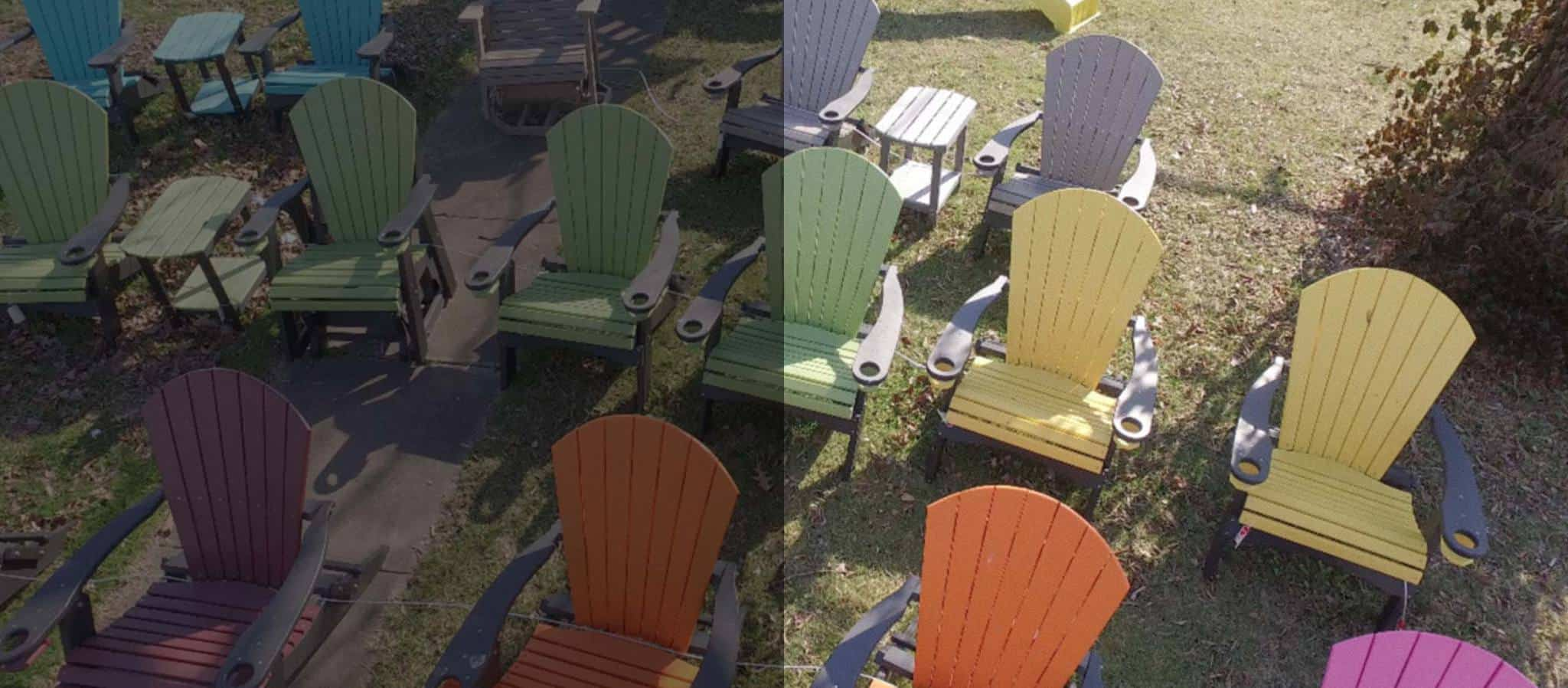 Adirondack Chairs U0026 Outdoor Furniture, New From Ku0026K Portable Buildings