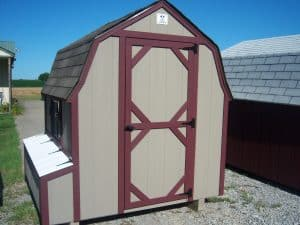 6x6 Chicken Coop | K&K Portable Storage Buildings Southern Illinois